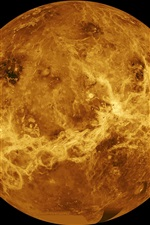 Preview iPhone wallpaper Venus, Solar System, planet, space