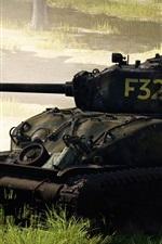 War Thunder, tanque, guerra, grama