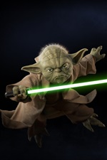 Preview iPhone wallpaper Yoda, Star Wars: Battlefront II