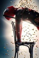 Preview iPhone wallpaper 2018 movie, Deadpool 2