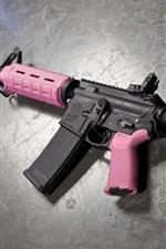 Preview iPhone wallpaper AR-15 assault rifle, weapon