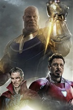 Preview iPhone wallpaper Avengers: Infinity War
