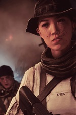 Preview iPhone wallpaper Battlefield 4, chinese girl