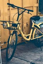 iPhone fondos de pantalla Bicicleta, silla