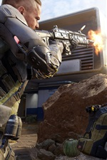 Preview iPhone wallpaper Call of Duty: Black Ops 3, soldiers