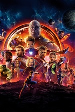 Preview iPhone wallpaper DC Comics movie, Avengers 3: Infinity War