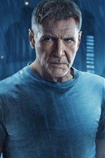 Preview iPhone wallpaper Harrison Ford, Blade runner 2049