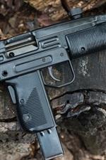 Vorschau des iPhone Hintergrundbilder Israel UZI Model B Pistole