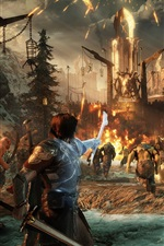 Preview iPhone wallpaper Middle-earth: Shadow of War
