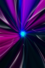 Preview iPhone wallpaper Purple abstract lines, stripes, light