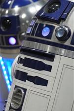 Preview iPhone wallpaper R2-D2 robot, Star Wars
