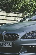 미리보기 iPhone 배경 화면 실버 BMW 자동차