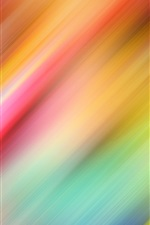 Preview iPhone wallpaper Slash lines, colorful, abstract background