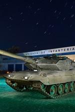 Tanque, noite, arma