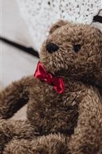 Vorschau des iPhone Hintergrundbilder Teddybär Spielzeug, Geschenk