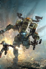 Preview iPhone wallpaper Titanfall 2, EA game