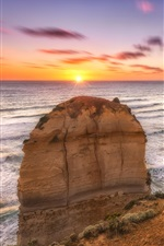Preview iPhone wallpaper 12 Apostles coast, sea, Melbourne, Victoria, Australia