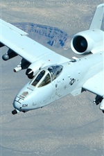 Preview iPhone wallpaper A-10 Thunderbolt II attack fighter