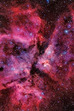 Beautiful space, galaxy, stars