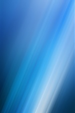 Blue obliquely light