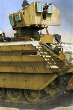 Preview iPhone wallpaper British armored personnel carrier