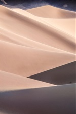 Preview iPhone wallpaper Desert, dunes, sands