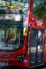 iPhone fondos de pantalla Inglaterra, Londres, autobús, calle