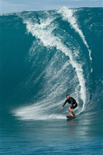 Preview iPhone wallpaper Extreme sports, sea surf