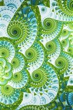 Obras de arte fractal, textura, arte abstrata