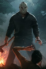 Preview iPhone wallpaper Friday the 13th: The Game