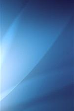 Brilho abstrato azul
