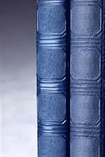 Preview iPhone wallpaper Hardback, books, blue color