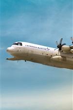 iPhone обои Военный транспортный самолет Hercules LM-100J