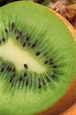 Preview iPhone wallpaper Kiwi, orange, fruit