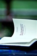 Preview iPhone wallpaper Lantern, book
