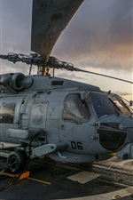 Preview iPhone wallpaper MH-60R Seahawk helicopter