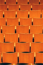 Preview iPhone wallpaper Many seats, hall