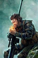 Metal Gear Solid V: a dor fantasma, imagens de arte