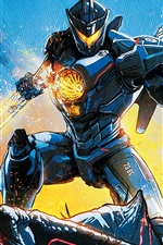 Preview iPhone wallpaper Pacific Rim: Uprising 2018