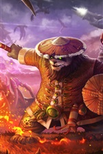 Preview iPhone wallpaper Panda, Heroes of the Storm