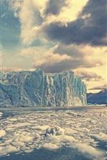 Preview iPhone wallpaper Perito Moreno Glacier, Argentina, glacier, ice, cold