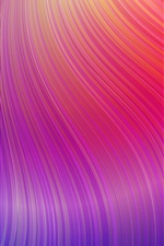 Preview iPhone wallpaper Purple curves, abstract picture