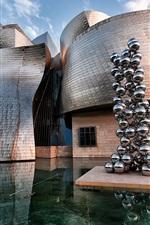 Preview iPhone wallpaper Spain, Museo Guggenheim Bilbao