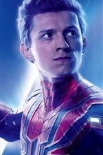 Preview iPhone wallpaper Spider-Man, Avengers: Infinity War