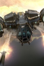 Preview iPhone wallpaper Star Citizen, fighter, spaceship