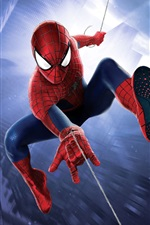 Preview iPhone wallpaper The Amazing Spider-Man, city