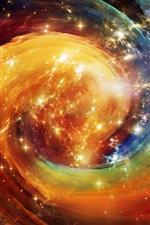 Universo, estrelas, espaço, cores lindas e astrais