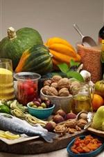 iPhone fondos de pantalla Verduras, frutas, nueces