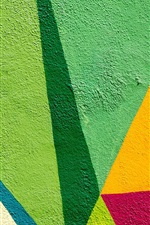 Preview iPhone wallpaper Wall, colorful paint, graffiti