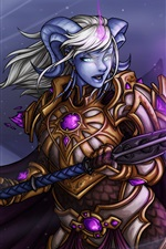 Yrel, World of Warcraft, garota, magia